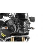 Headlamp guard black with quick release fastener for Yamaha Tenere 700 *OFFROAD USE ONLY*