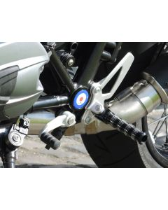 replacement footpegs (set), front for BMW RnineT / RnineT Scrambler