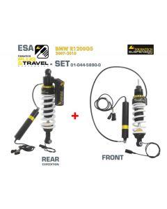 Touratech Suspension Plug & Travel ESA Expedition SET for BMW R1200GS Model 2007-2010