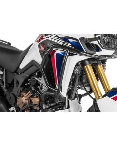 Stainless steel crash bar black, for Honda CRF1000L Africa Twin