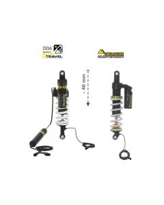 Touratech Suspension-SET Plug & Travel -40 mm lowering for BMW R1200GS/R1250GS Adventure  from 2017